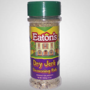 Eaton's Dry Jerk Seasoning Rub (Hot) will enhance any jerk dish and bring out the authentic jerk taste. 3.7 oz