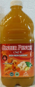 Chef K Ginger Punch with Turmeric