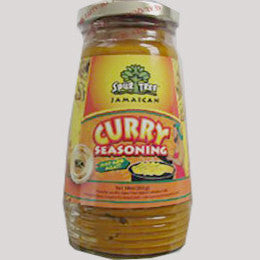 Spur Tree curry seasoning is prepared from the finest, fresh local vegetables out of Jamaica. Spur Tree curry is a great tasting seasoning for chicken, pork, fish, shrimp and lamb. 283g