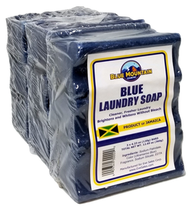 Blue Laundry Jamaican Soap - 3pk