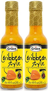 Grace Caribbean Style Hot Pepper Sauce