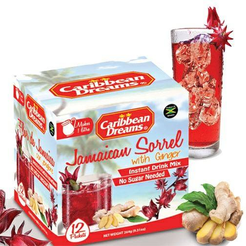 Caribbean Dreams Jamaica Sorrel with Ginger - 12 Sachets