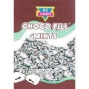 KC Candy Choco Fill Mints are a combination of great mint taste together with a sweet chocolate center.