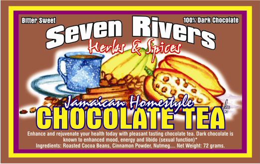 Seven Rivers Jamaican Chocolate Tea