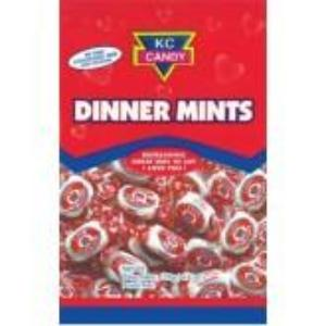 KC Dinner Mints are world famous dinner mints with enticing love words. Well known throughout the Caribbean and is a classic favorite.