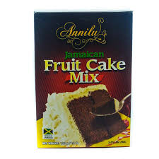 Annilu Jamaican Fruit Cake Mix