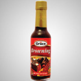 Grace Browning is a sweet crispy reduction of caramel, salt & water. It adds unique flavor to your dishes. It's also perfect for baking and cooking.