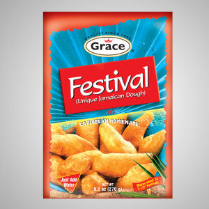 Grace Festival Mix is a unique Jamaican dough mix. Just add water and capture the realness quick and easy!