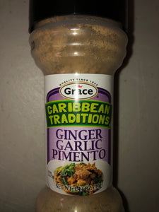Grace Caribbean Traditions Ginger, Garlic and Pimento Seasoning