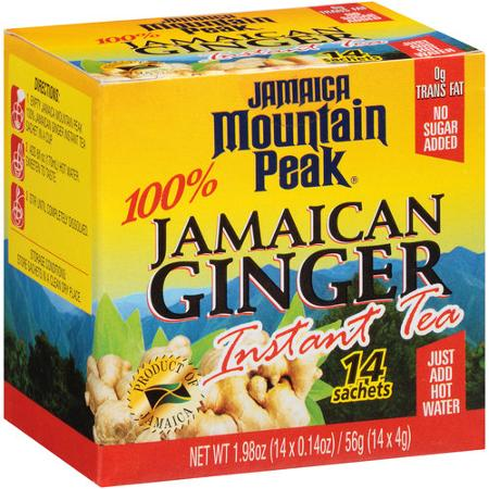 Jamaican Mountain Peak, 100% Jamaican Ginger Instant Tea