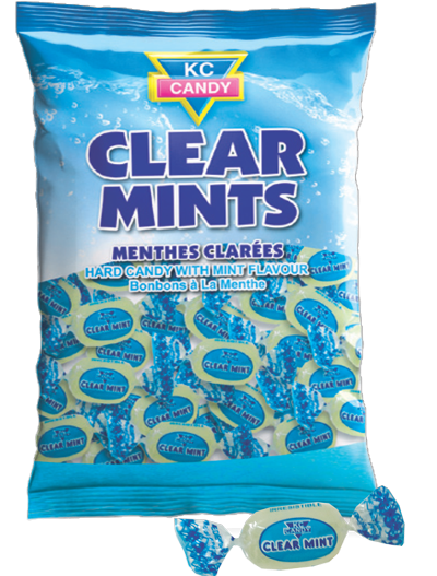 KC Candy Clear Mint