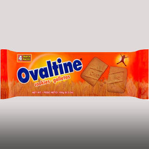 Ovaltine Cookies are malt flavored biscuits. They may be enjoyed as a light snack.5.3 oz