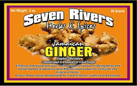 Seven Rivers Herbs and Spices Jamaican Ginger