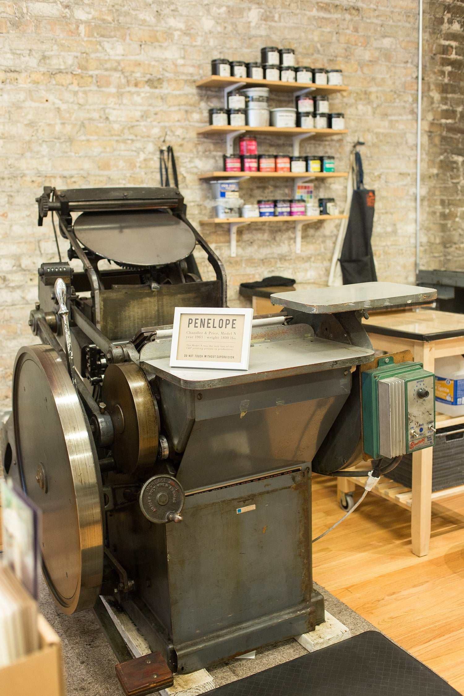 Letterpress Chicago