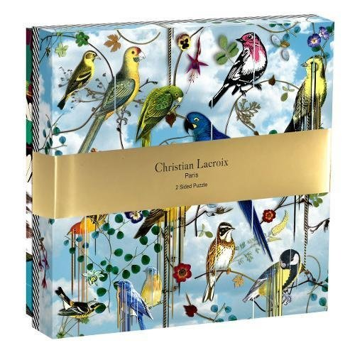 Christian Lacroix Bird Double Sided 250 Piece Puzzle - Steel Petal Press