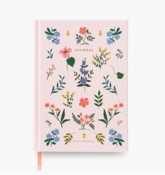 Hardcover Fabric Journal Notebook