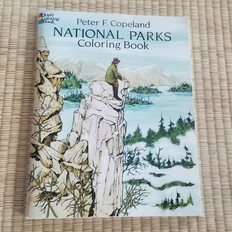 Dover National Parks Coloring Book - Steel Petal Press