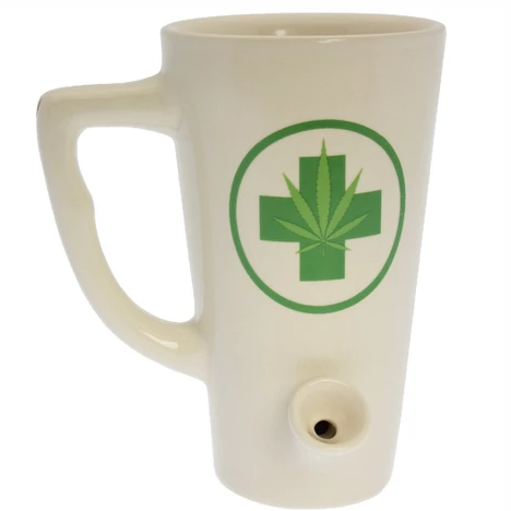 Medical Weed Wake and Bake Tall Mug