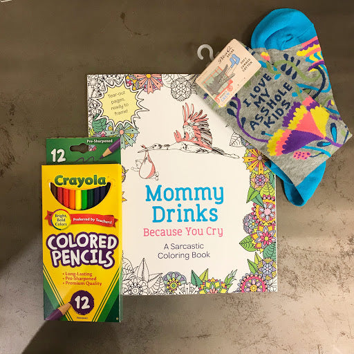 Care Package for Moms - Steel Petal Press