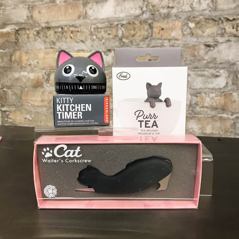 Kitchen Kitty Cat Care Package - Steel Petal Press