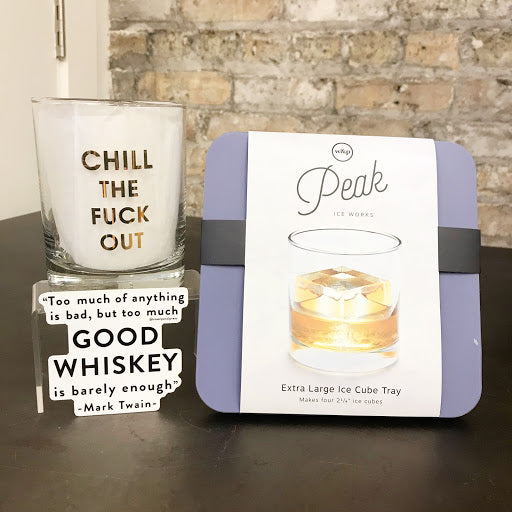 Whiskey Lover Care Package - Steel Petal Press