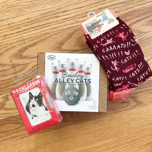 Games for Cat Lovers Care Package - Steel Petal Press