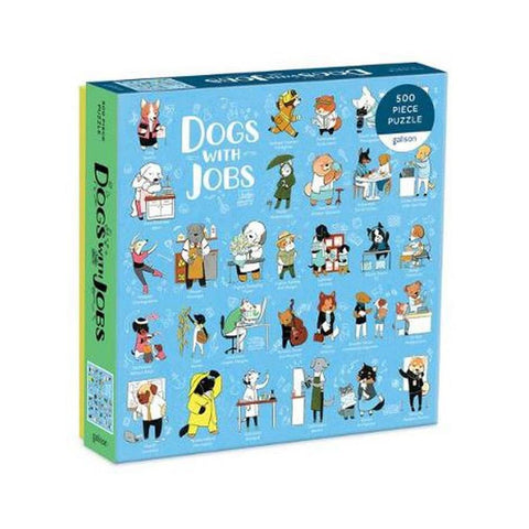 Dogs With Jobs 500 Piece Puzzle - Steel Petal Press