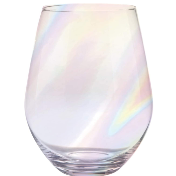 Jumbo Stemless Wine Glass 30 oz One Full Bottle Of Wine - SC