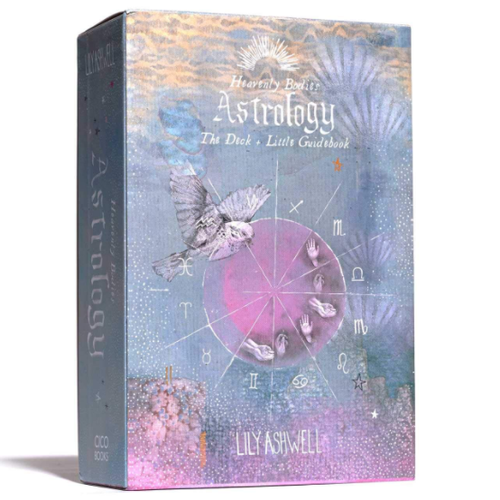 Heavenly Bodies Astrology Deck with Guide Book Set