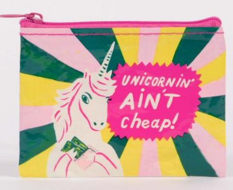 Unicornin Aint Cheap Coin Purse