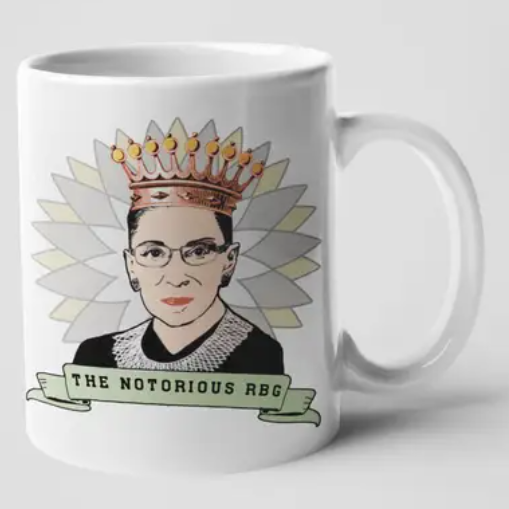 The Notorious RBG Crown Banner Mug - CDC