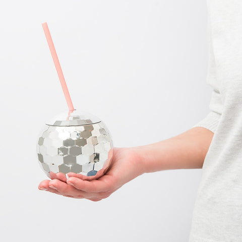 Silver Disco Ball Tumbler - Steel Petal Press