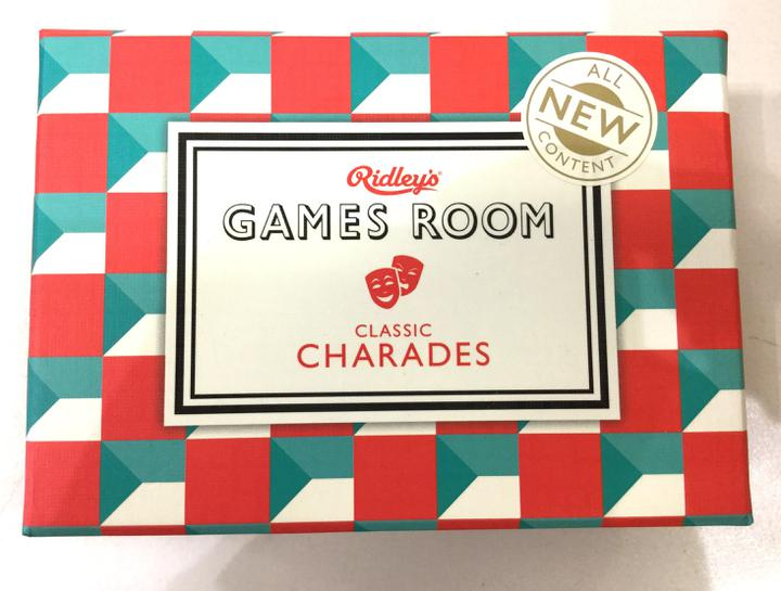 Classic Charades V2 Ridleys Games Room Box - CH