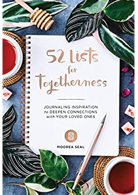 52 Lists For Togetherness Moorea Seal Journal Book - CGD