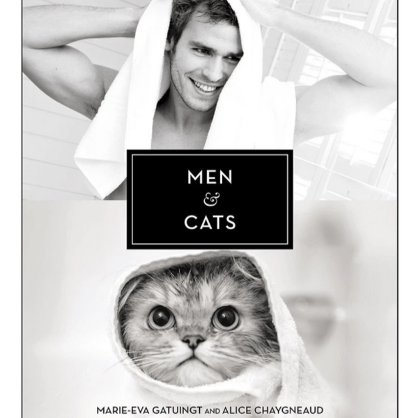 Men And Cats Book - Steel Petal Press