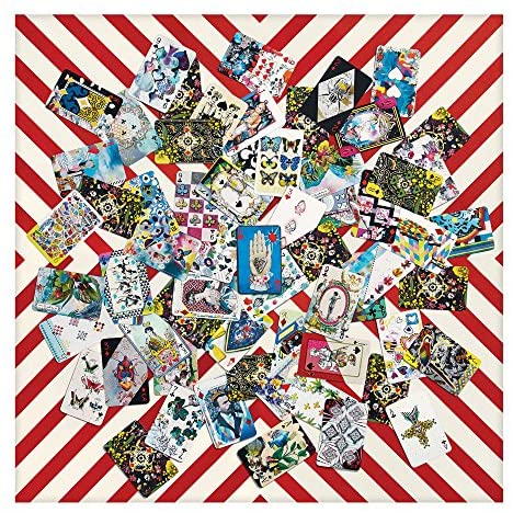 Christian Lacroix Double Sided 250 Piece House Of Cards Puzzle - Steel Petal Press