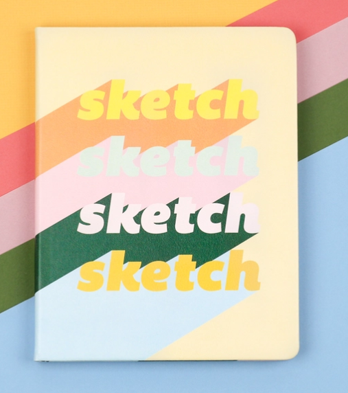 Hardcover Sketch Blank Notebook - Denik