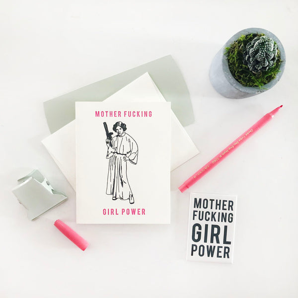MF Girl Power - Steel Petal Press