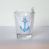 Shot glass - Anchor - Steel Petal Press