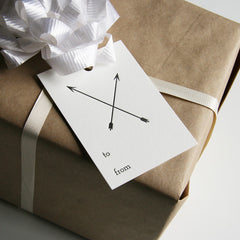 Arrows Gift Tags