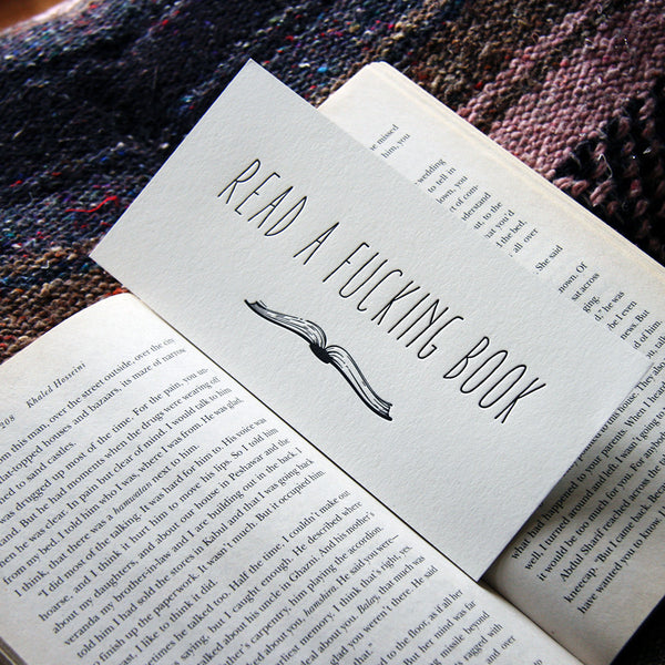 F*ing Book - Bookmark | Steel Petal Press