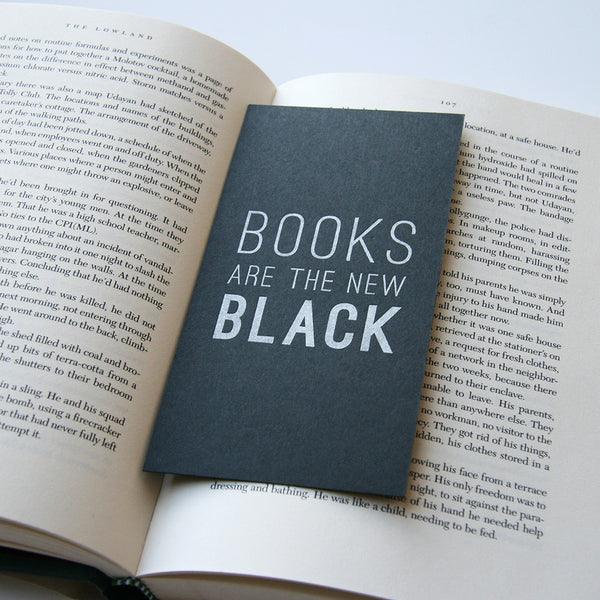 New Black - Bookmark | Steel Petal Press