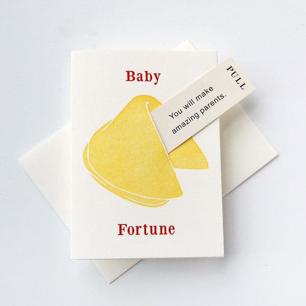 Baby Amazing Parents - Fortune Cookie | Steel Petal Press