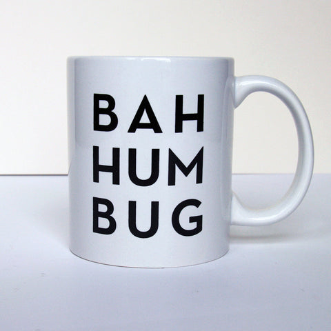 Bah Hum Bug Mug - Steel Petal Press