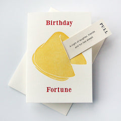 Birthday Laughter Fun - Fortune Cookie