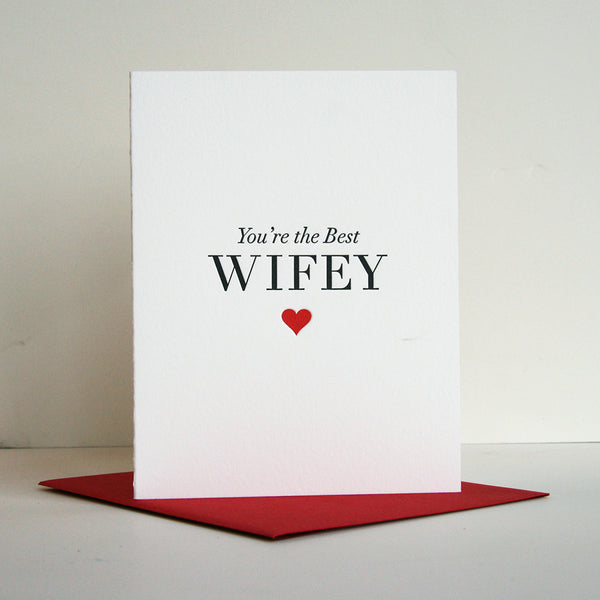 Best Wifey | Steel Petal Press