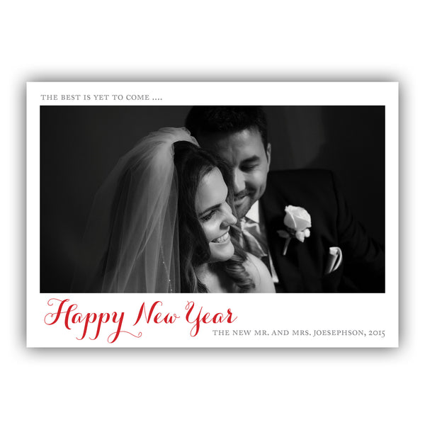 Best Is Yet To Come Photo Card | Steel Petal Press