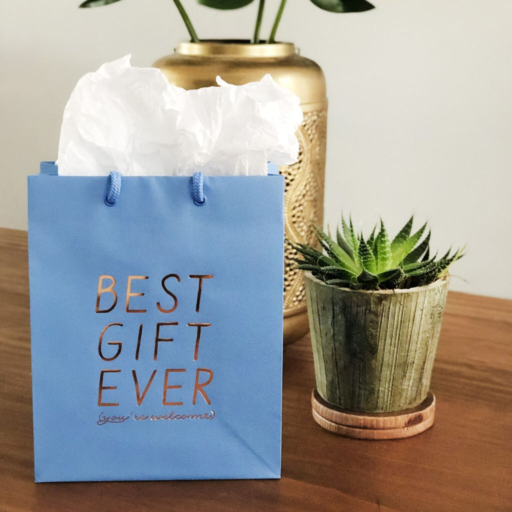 Best Gift Ever Bag - Steel Petal Press