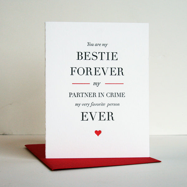 Besties Forever | Steel Petal Press