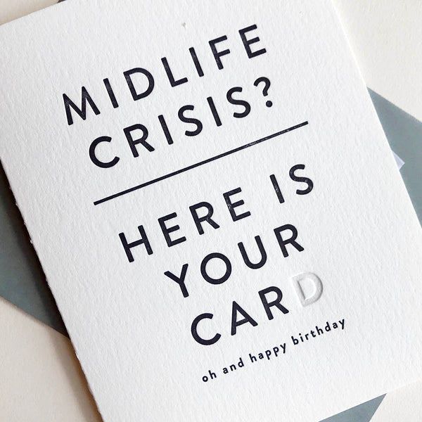 Midlife Crisis | Steel Petal Press